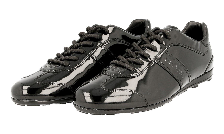 shoes PRADA LUSSO 3E4126 black NUOVE 37 37,5