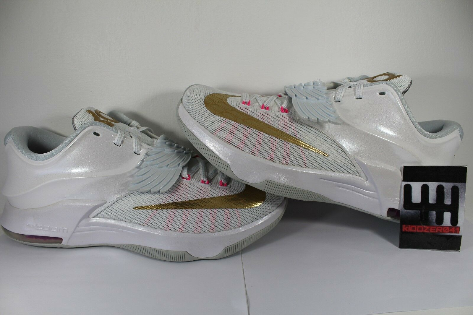 NIKE KD 7 AUNT PEARL SZ NEW 13 NEW SZ DS 100%AUTHENTIC KYRIE LEBRON YEEZY FOAMPOSITE 12 141600