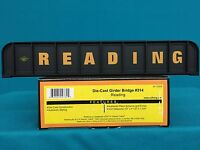 30-12006 Mth Realtrax Railking 10 Die-cast Girder Bridge 314 Reading