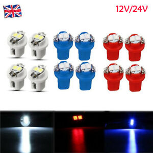 12V-24V-T5-5050-2-SMD-B8-5D-LED-Car-Dashboard-Dash-Gauge-Instrument-Light-Bulbs
