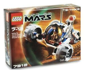 LEGO-7312-Life-on-Mars-T3-Trike-99-Pieces-NEW