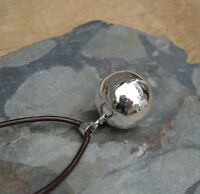 Silver Harmony Bell Mexican Bola Ball Necklace A Lovely Pregnancy Gift New