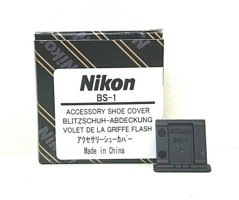 【 UNUSED IN BOX 】Nikon OEM BS-1 Hot Shoe Cover for Nikon SLR Cameras From JAPAN