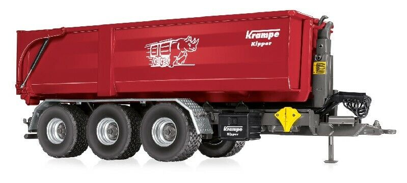 7826 Krampe Hook Lift Thl 30 L with Roll Container Big Body 750 1 3 2