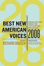 Best New American Voices 2008 (Best New American Voices)-ExLibrary