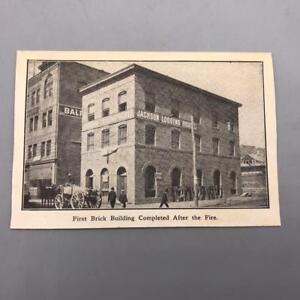 Antique-Postcard-San-Francisco-Fire-Jackson-House-Lodging-California-ca-1910