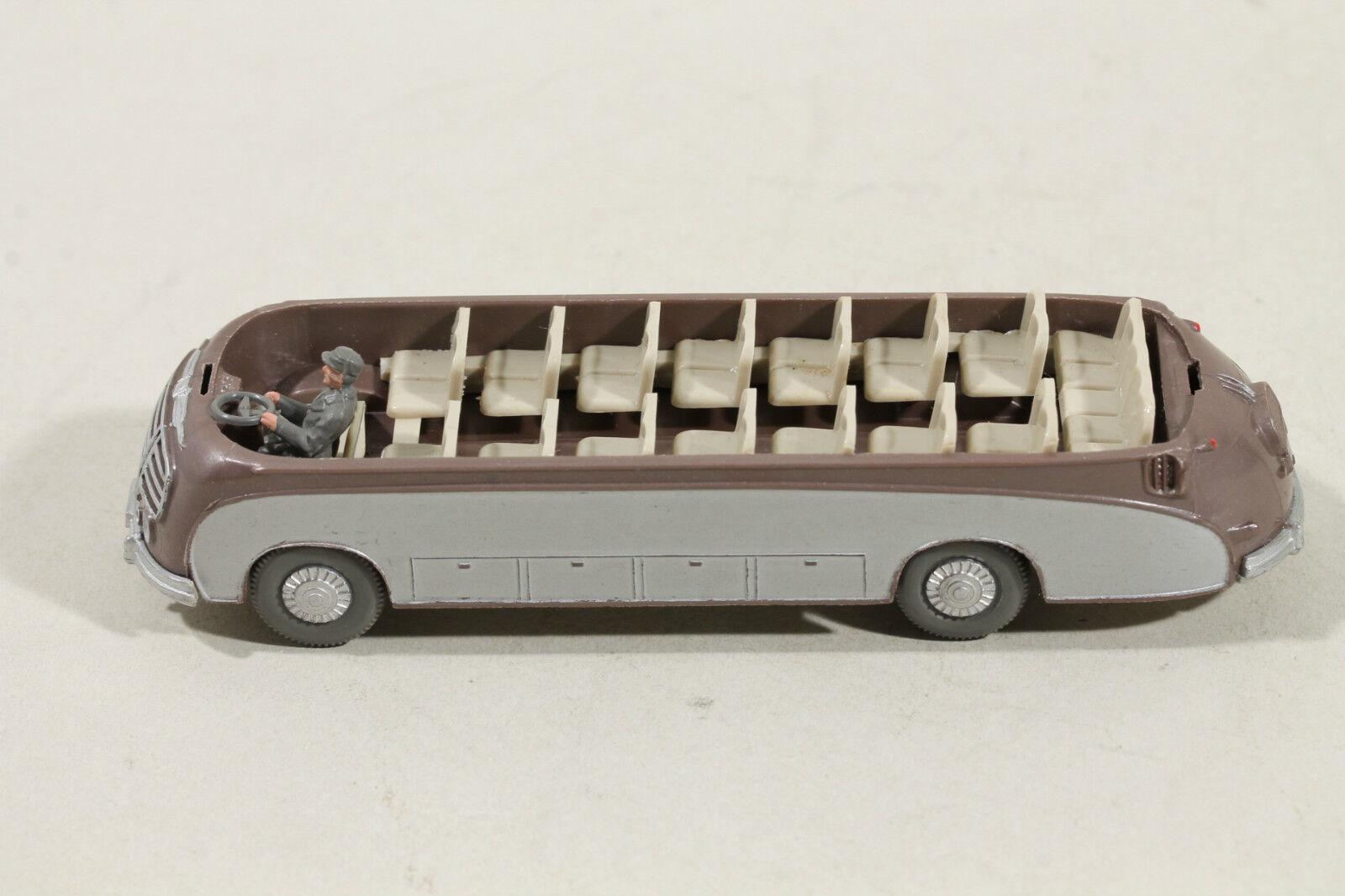 1166 Typ 3C Wiking SETRA-BUS 1956 - 1968   braunmetallic    Öffnen Sie das Interesse und die Innovation Ihres Kindes, aber auch die Unschuld von Kindern, kindlich, glücklich