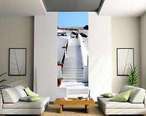 papier peint d co l unique mont e d 39 escalier blanc r f. Black Bedroom Furniture Sets. Home Design Ideas