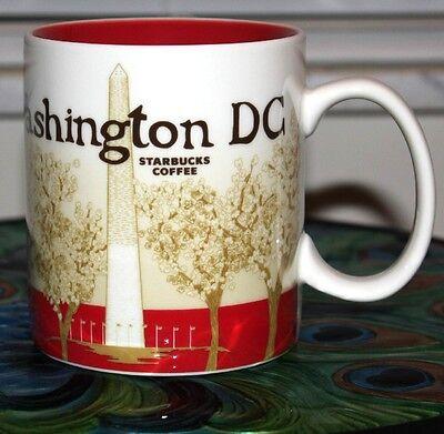 Starbucks Washington D.C. Global Icon City Series 16oz City Mug - Rare - NWT -