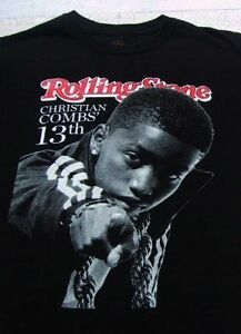 CHRISTIAN COMBS 13th Birthday Party SMALL T SHIRT Sean P Diddy Puff
