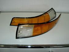 Porsche 911 Blinker Glas vorne rechts/links schwarz indicator lenses black front
