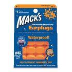 Mack's 10 Pillow Soft Ear Plugs - Kid Size Swimming Waterproof Pack 6 Each