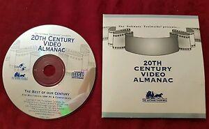 Discipliné 20th Siècle Vidéo Almanach Meilleurs Notre Siècle (pc, Cd-rom) Software Toolworks 1993-afficher Le Titre D'origine