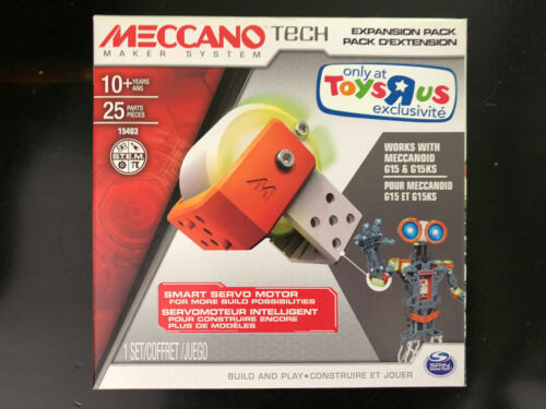 Meccano Tech Maker System 15403 Expansion Pack Smart Servo Motor 1 set NEW