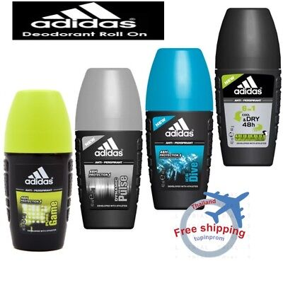 escucha Mal humor Guijarro  X6 PACK Adidas Deodorant Roll On 48 hr PROTECTION ANTI-PERSPIRANTS FOR MEN  DRY | eBay
