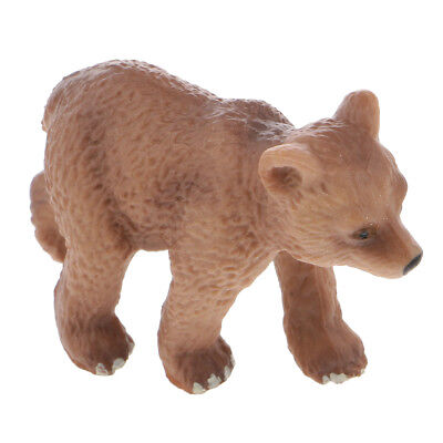 Plastic Lifelike Simulation Wildlife Animal Herbivore Model Figure Kids Toy Gift