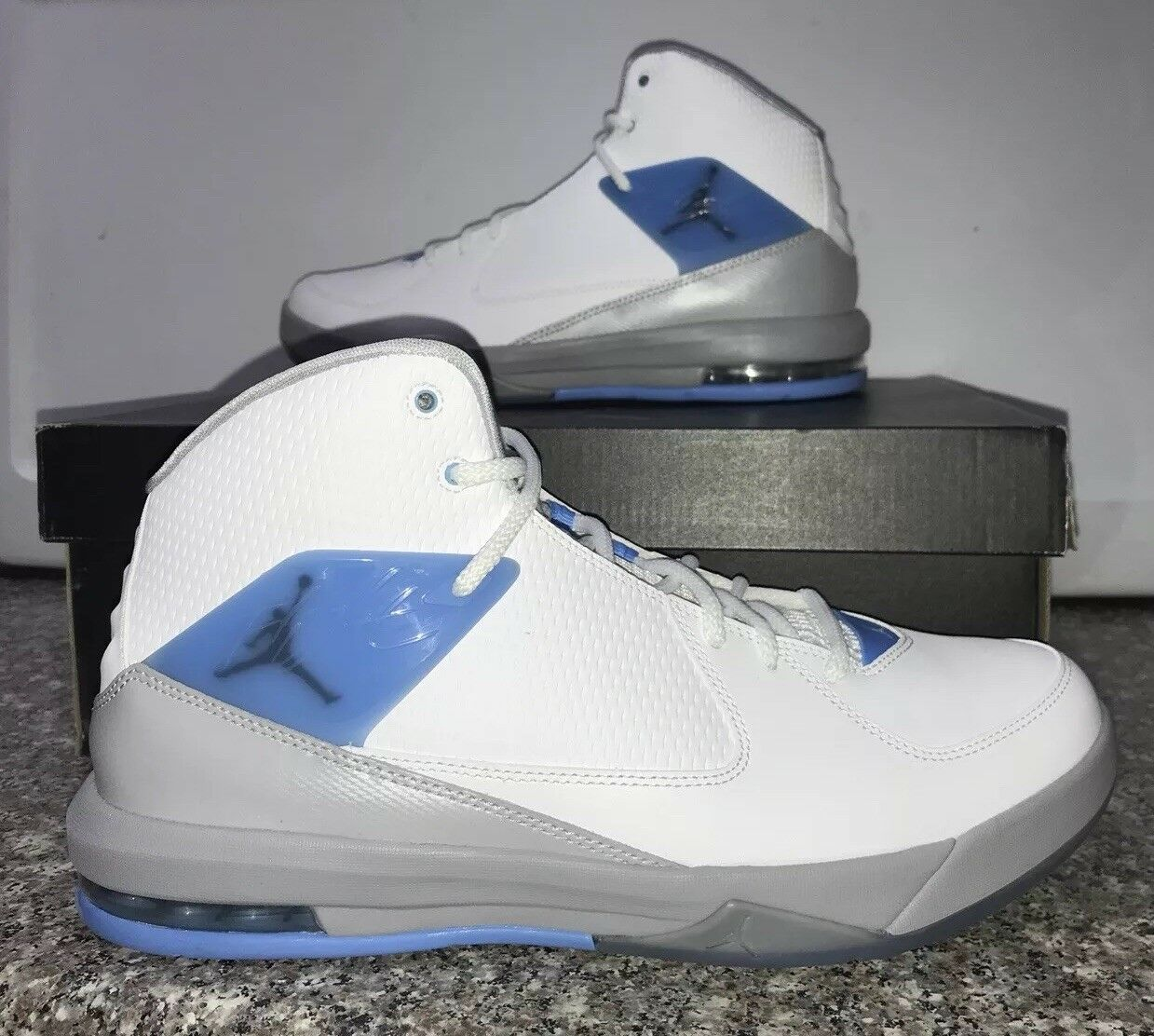 Air Jordan flight Incline White/Wolf Grey/University Blue/Carolina 11 705796-106 Comfortable and good-looking