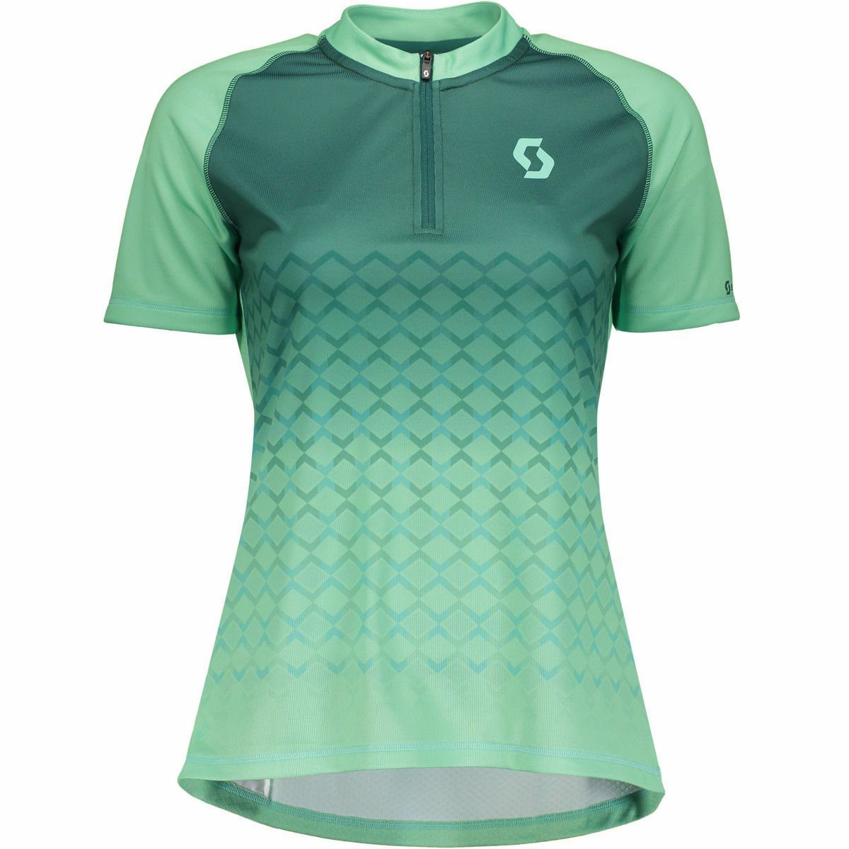 MAGLIA CICLISMO women SCOTT SHIRT W'S TRAIL 10 S SL color green taglia M