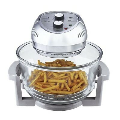 Big Boss 1300-Watt OilLess Fryer, 16-Quart, Silver - BRAND NEW, Free Shipping!