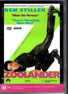 ZOOLANDER-DVD-R4-2002-Ben-Stiller-Owen-Wilson-LIKE-NEW-FREE-POST