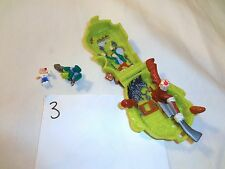 Mighty Max Horror Heads Ax Man 100% Complete Set Playset Bluebird Toys