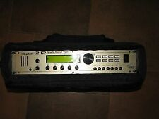 Digitech 2112 Studio Guitar System w/Tube Preamp and Rok Sak Soft Side Rack Case