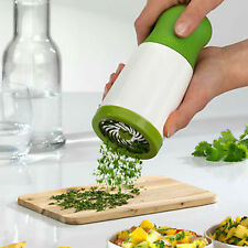 Herb Mill Chopper Cutter Mince Stainless Steel Blades Grinder Herb Chopper