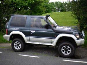 Snorkel-Kit-Raised-Air-Intake-Mitsubishi-Pajero-Shogun-1991-1999-2-5TD-Diesel