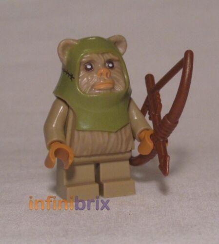 Lego Ewok Warrior from Set 10236 Ewok Village Star Wars Minifigure NEW sw508