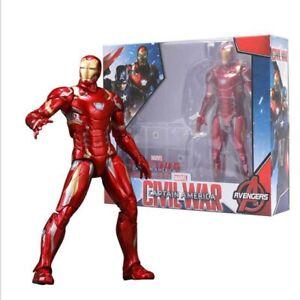 Marvel Toys Avengers Civil War Iron Man Figure Doll Model 7 Action Toy Movie Ebay