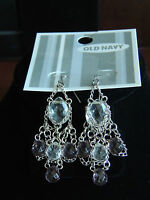 Womens Old Navy Wire Hook Chandelier Earrings