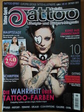 TATTOO SPIRIT 65 Farben Tribal Schriften Messe Berlin Pflege Crispy Lennox