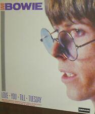 DAVID BOWIE  LP DERAM UK LOVE -YOU - TILL -TUESDAY