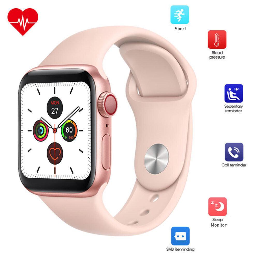 Women Girls Smart Watch Heart Rate Pedometer Sport for LG iPhone 7 8 X 11 XS XR for girls heart iphone pedometer rate smart sport watch women