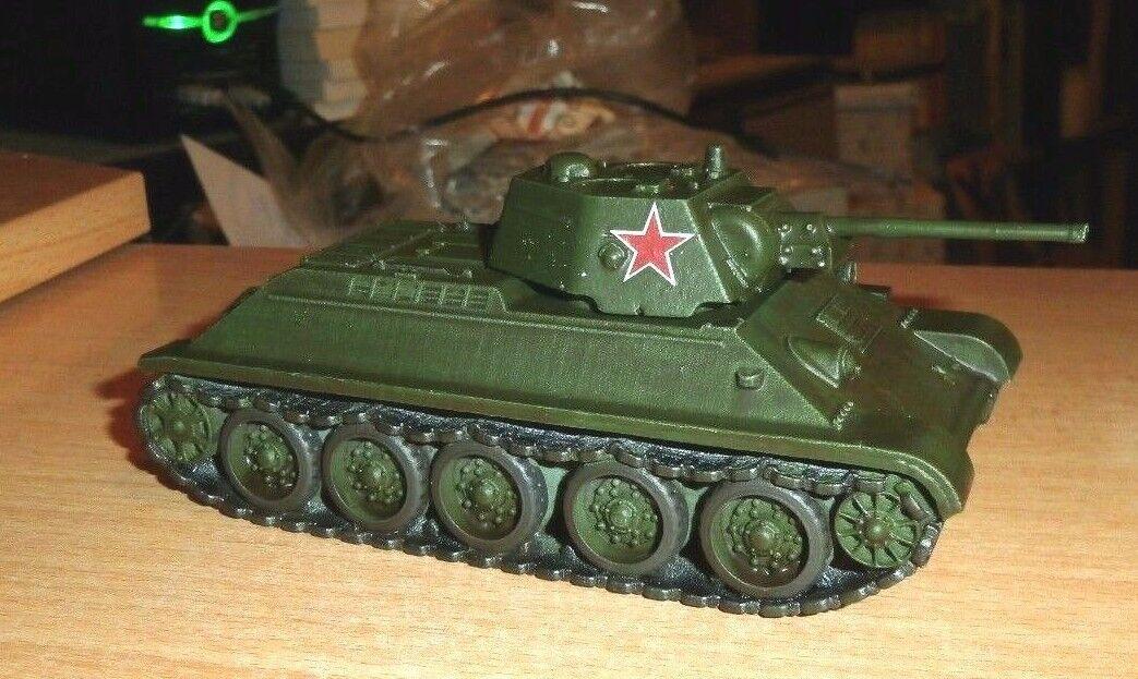 Resina de 1 de acción Perno metal soviética T-34 76 tanque muy bien pintado Segunda Guerra Mundial de 1 56... un