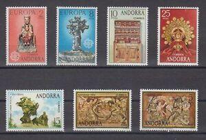 ANDORRA-ESPANOLA-1974-ANO-COMPLETO-NUEVO-MNH-SPAIN-EDIFIL-89-95
