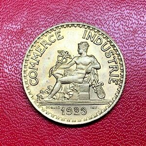 2634-RARE-2-francs-1923-CDC-Chambre-de-commerce-SUP-SPL-FACTURE