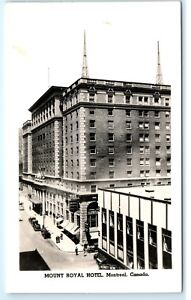 Image Is Loading 1940s Honey Dew Mount Royal Hotel Montreal Canada