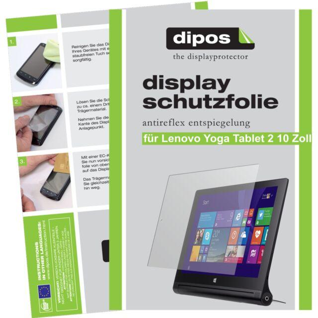 2x dipos Lenovo Yoga Tablet 2 10.1 Protector de Pantalla protectores mate