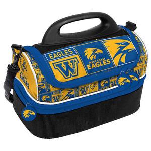 AFL-Lunch-Cooler-Bag-Box-West-Coast-Eagles-Aussie-Rules-Football-BNWT