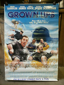 Grown Ups 2010 27x40 Rolled Dvd Promotional Poster Ebay