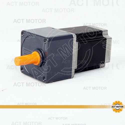 ACT Motor GmbH 1Stück Nema23 Geared Motor 23HS8430AG5 4leads 3A 1.9Nm 5:1