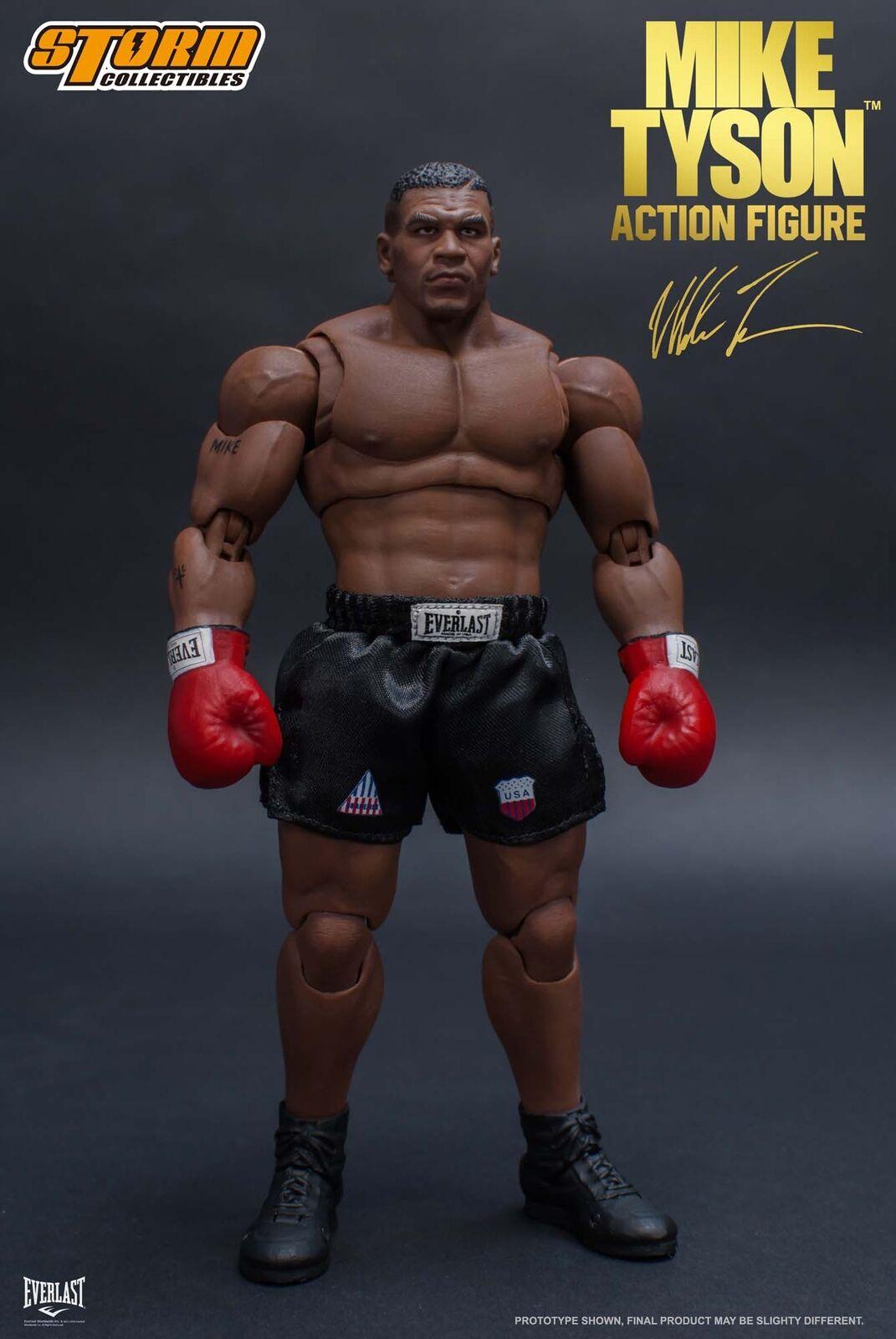 Mike Tyson figura de acción