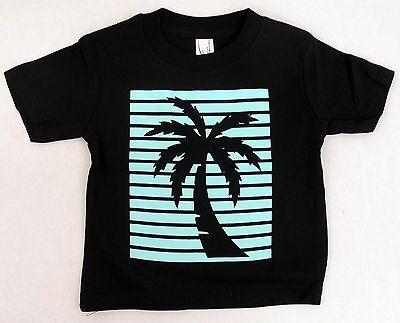 PALM TREE Baby Infant Tank Top T-shirt Summer Beach Vest Tee 6M,12M,18M,24M New