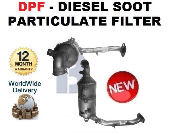 For Mazda 3 1.6 DI Turbo 2004   NEW DPF DIESEL PARTICULATE FILTER