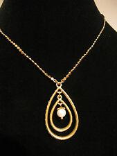 Pilgrim Kette  - vergoldet -  NEU -  mit einer Perle  - Gold - golden