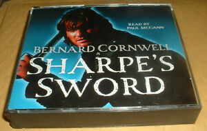 Sharpe-039-s-Sword-The-Salamanca-Campaign-by-Bernard-Cornwell-3-CD-AUDIO-BOOK