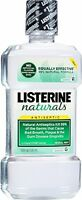 4 Pack Listerine Naturals Antiseptic Adult Mouthwash Herbal Mint 16.9oz Each on sale