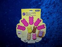 Wilton Peeps Bunny Pink Silicone Candy Mold 12 Cavities