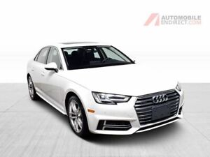 2018 Audi A4 Technik 2.0T Quattro Cuir Toit GPS Caméra